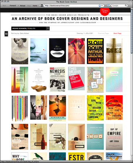 Book Cover Archive ~ The book cover archive is go «