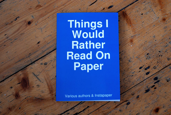 Paper Things Book Cover ~ Things